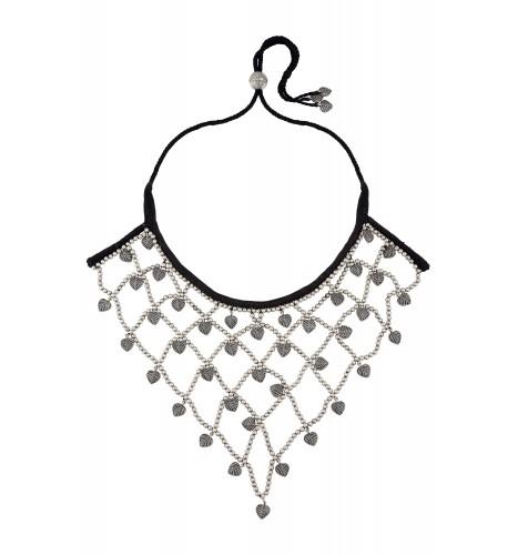 Ghana Ghana Jaali Silver Plated Necklace