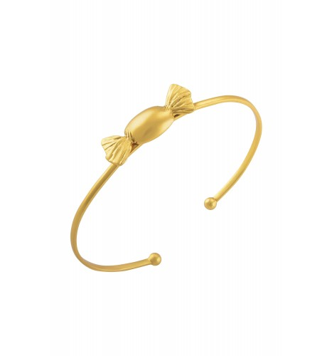 Toffee Gold Plated Bangle