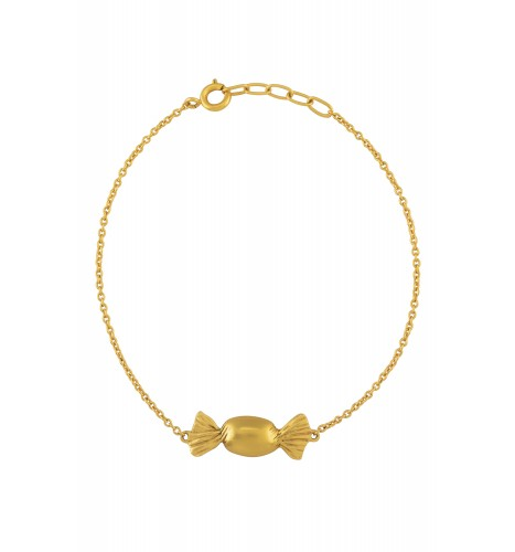 Toffee Gold Plated Bracelet