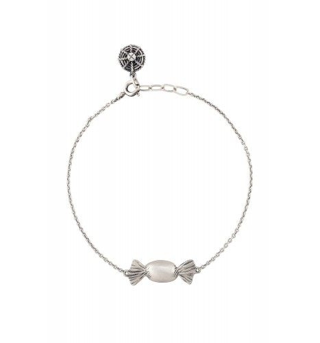 Toffee Silver Plated Bracelet