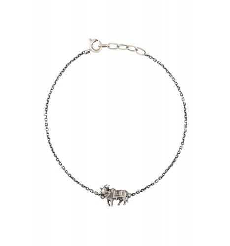 Holy Cow Silver Plated Bracelet
