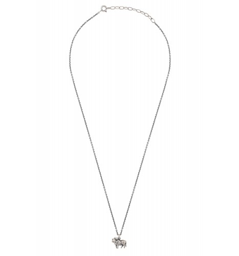 Holy Cow Silver Plated Necklace