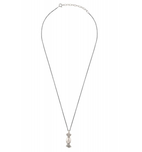 Toffee Silver Plated Necklace
