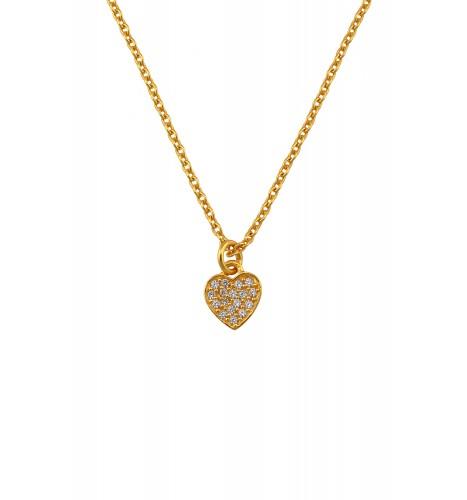 Gold Plated Little Heart Pendant
