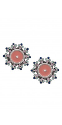 Multi Enamel Ear Studs