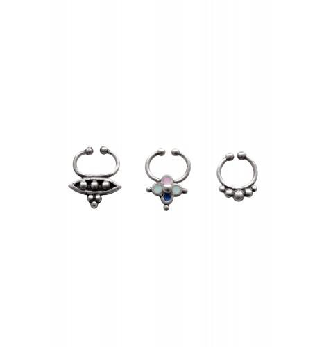 Set of 3 Septum Rings