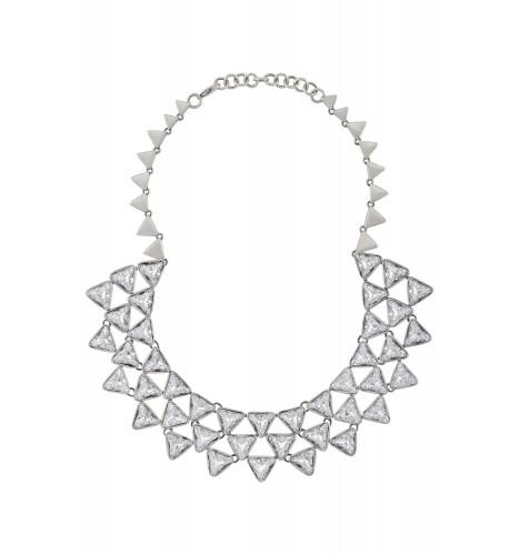 Swarovski Triangle Necklace
