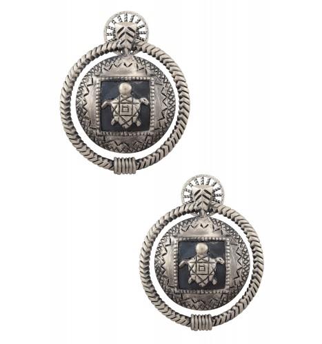 Silver Plated Mata Mata Earrings
