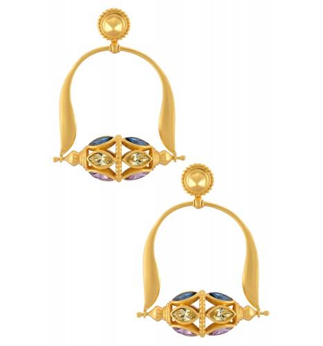 Swarovski Leafy Rawa Earrings